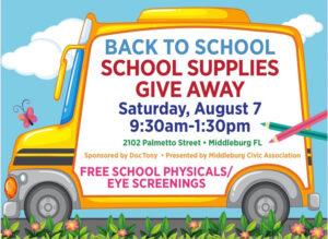 Chiropractic Jacksonville FL Back To School Supplies